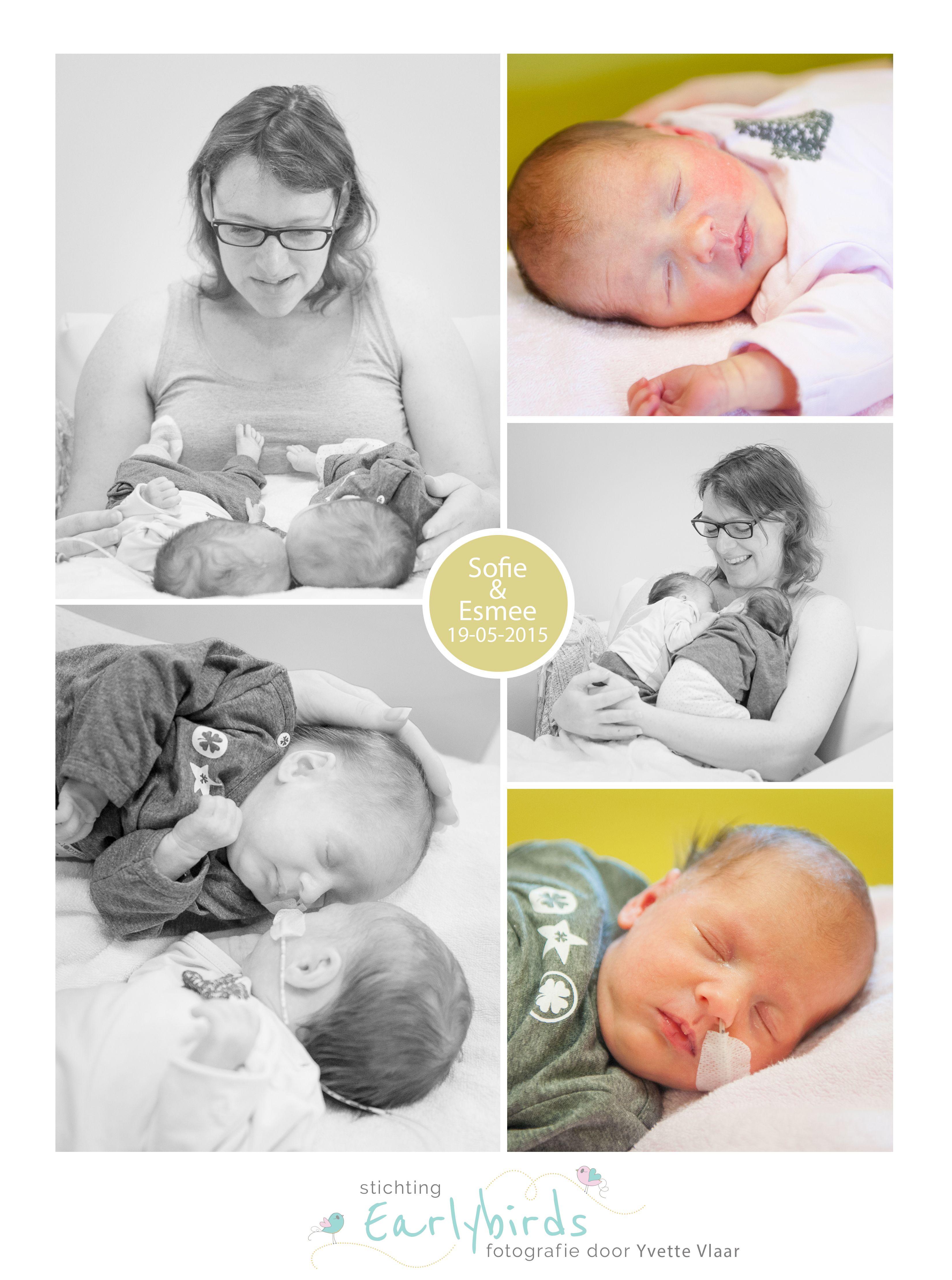 Esmee & Sofie prematuur 33 weken tweelingkamer ziekenhuis Hoorn