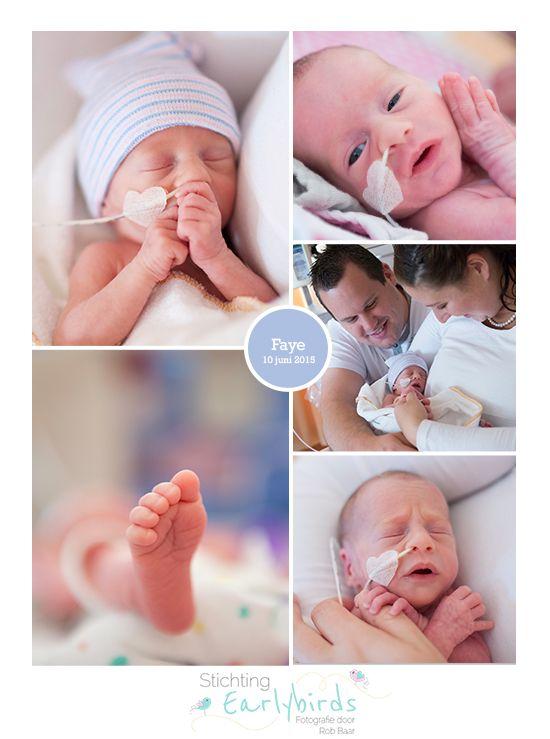 Faye prematuur geboren 33 weken zwangerschap