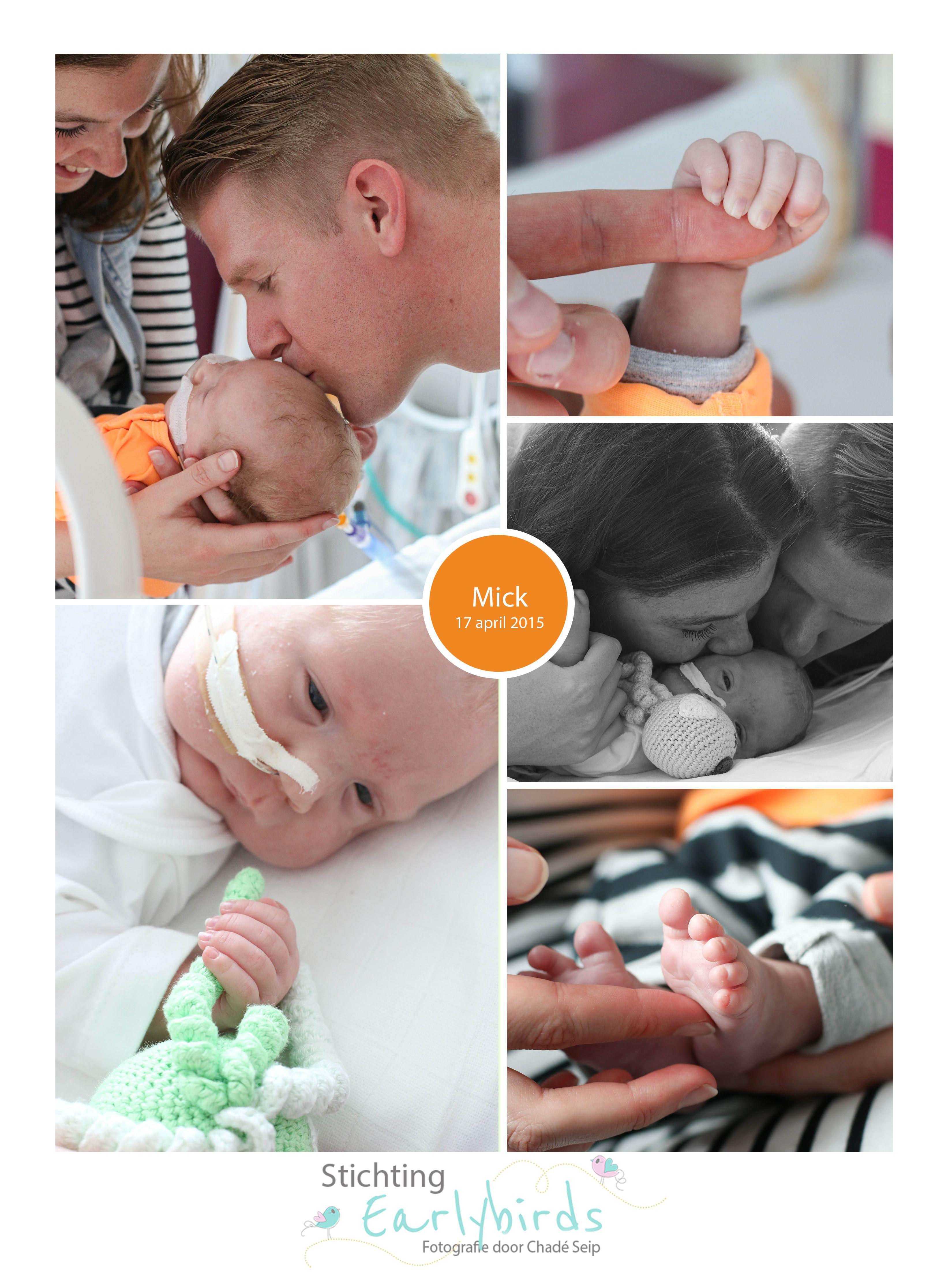 Mick prematuur geboren 26 weken Tenerife
