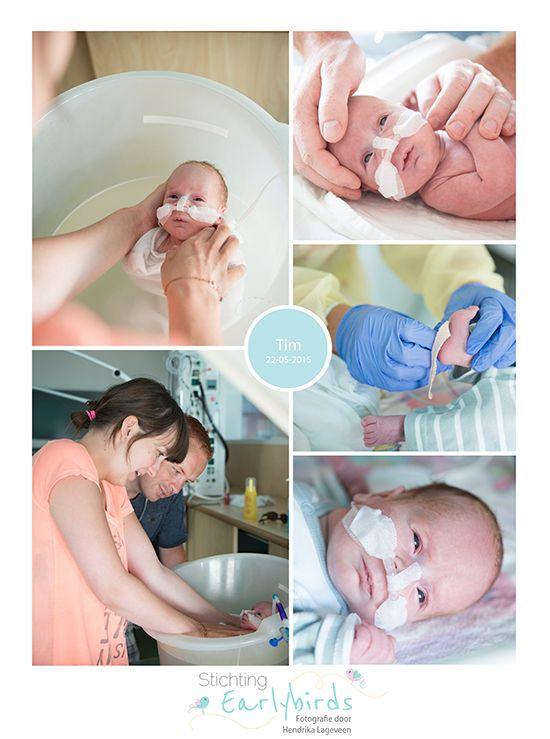 Tim prematuur geboren 29 weken
