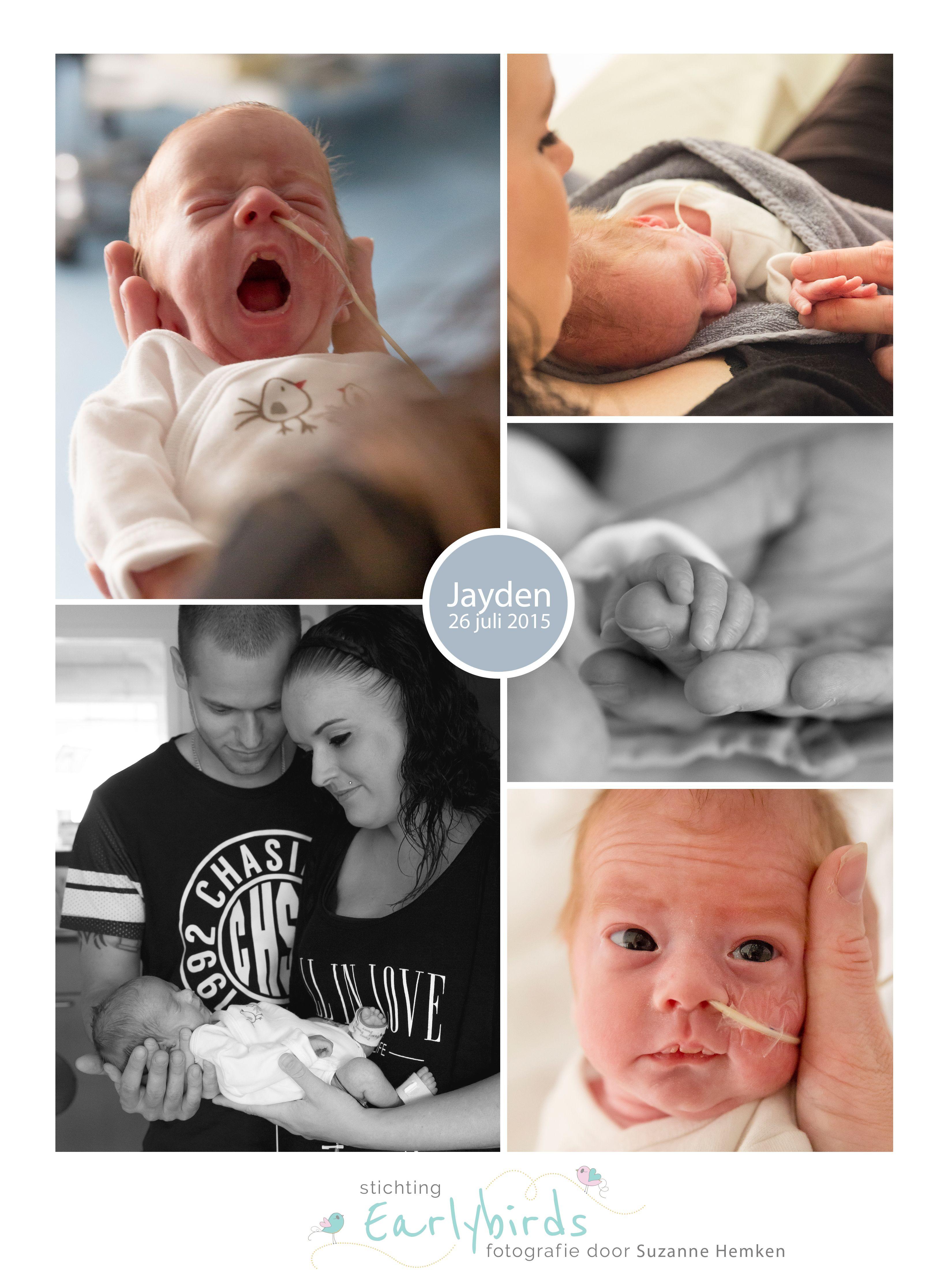 Jayden prematuur geboren 31 weken zwangerschap infectie neusbrilletje warmtebed