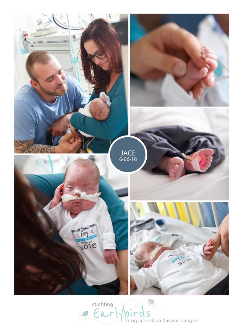 Jace prematuur geboren 24 weken