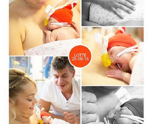 Lotte, prematuur, geboren met 26 weken, bloedingen, gebroken vliezen, couveuse