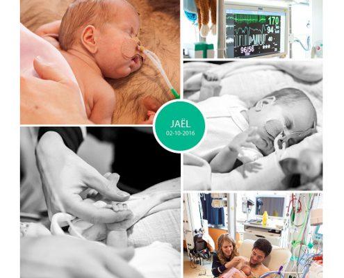 Jael prematuur geboren met 24 weken en 5 dagen., ICN, High Care, Sophia kinderziekenhuis