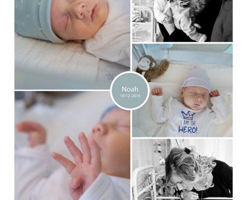 Noah prematuur geboren met 35 weken en 4 dagen, gebroken vliezen, ontsluiting, antibiotica, NICU, sondevoeding