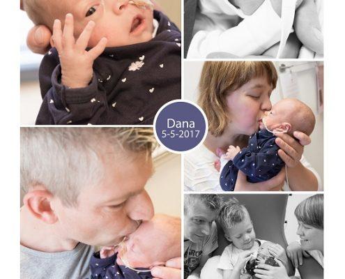 Dana prematuur geboren met 24 weken en 1 dag, CPAP, MMC Veldhoven, drieling