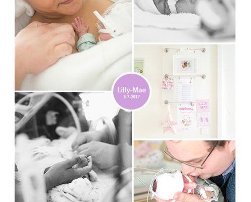 Lilly-Mae prematuur geboren met 24 weken en 4 dagen, MMC Veldhoven, tweeling