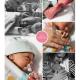 Liv prematuur geboren met 35 weken, gebroken vliezen, keizersnede, Bravis