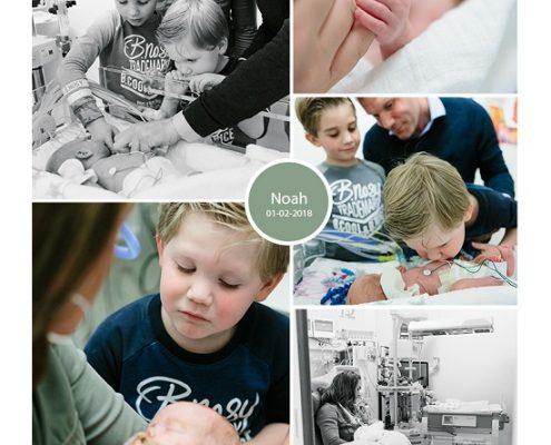 Noah prematuur geboren met 25 weken, UMCG