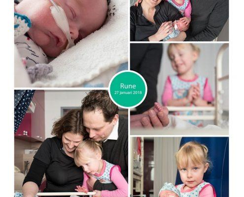 Rune prematuur geboren met 28 weken, Juliana Kinder Ziekenhuis, keizersnede, sondevoeding