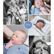 Milano prematuur geboren met 34 weken, vroeggeboorte, sonde, Bravis Bergen op Zoom