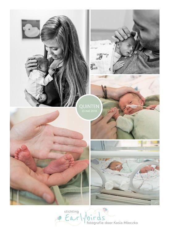Quinten prematuur geboren met 32 weken, Rode Kruis ziekenhuis Beverwijk, couveuse, vroeggeboorte