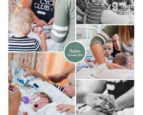 Robin prematuur geboren met 24 weken en 4 dagen, vroeggeboorte, Albert Schweitzer ziekenhuis, sondevoeding