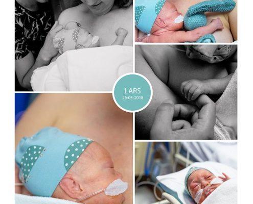Lars prematuur geboren met 28 weken, Rijnstate Arnhem, zwangerschapsvergiftiging, couveuse, buidelen, sonde