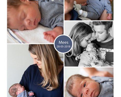 Mees prematuur geboren met 28 weken en 4 dagen, MMC Veldhoven, gebroken vliezen, longrijping, NICU, sonde