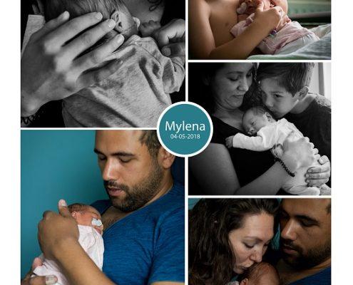 Mylena prematuur geboren met 33 weken en 1 dag, gebroken vliezen, OLVG West, sondevoeding