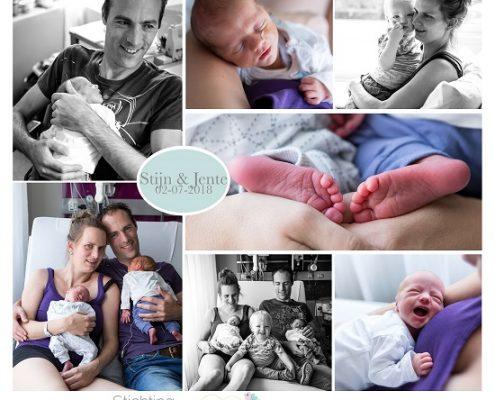 Stijn & Jente prematuur geboren met 35 weken, tweeling, sondevoeding