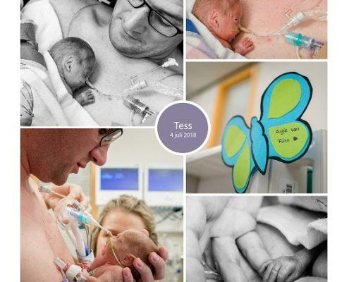 Tess prematuur geboren met 24 weken en 1 dag, couveuse, buidelen, tweeling, sonde