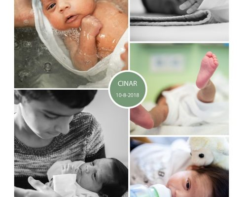 Cinar prematuur geboren bij 29 weken, gebroken vliezen, Isala Klinieken, ruggenprik, couveuse, NICU, neonatologie, sonde