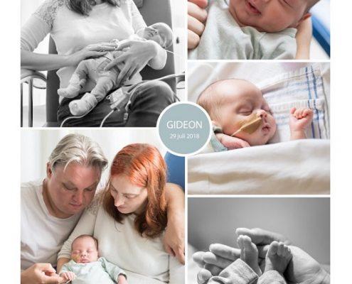 Gideon prematuur geboren met 30 weken en 6 dagen, Maasstad ziekenhuis, sondevoeding, vroeggeboorte