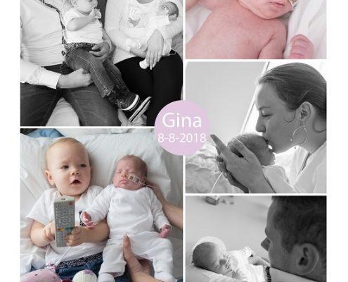 Gina prematuur geboren met 32 weken, Catharina ziekenhuis, vroeggeboorte, sonde