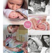 Nina prematuur geboren met 29 weken en 4 dagen, LUMC, groeiachterstand, spoedkeizersnede, sondevoeding