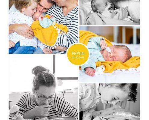 Pepijn prematuur geboren met 34 weken en 1 dag, Gelderse Vallei, Vasa previa, Placenta previa totalis, spoedkeizersnede