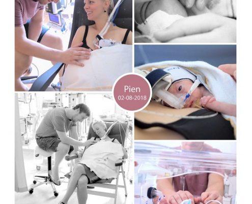 Pien prematuur geboren met 24 weken en 3 dagen, gebroken vliezen, weeenremmers, Radboud UMC, NICU, couveuse