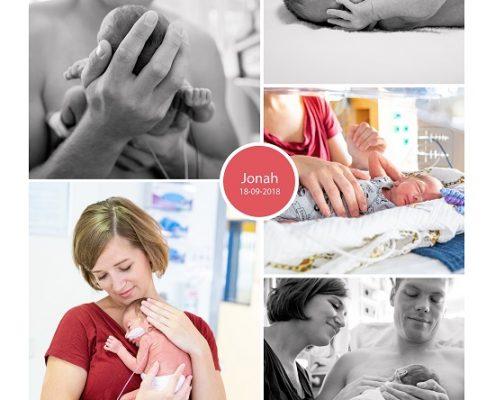 Jonah prematuur geboren met 31 weken, Gelderse Vallei Ede, bloedverlies, RadboudMC, spoedkeizersnede, CPAP, Ronald McDonaldhuis, couveuse, borstvoeding, buidelen