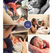 Luca prematuur geboren met 33 weken, wiegje, borstvoeding, neussonde