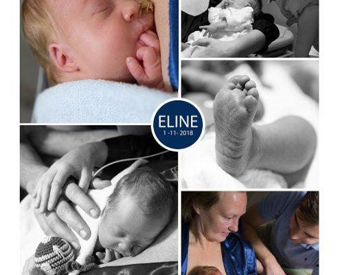 Eline prematuur geboren met 31 weken en 5 dagen, Bravis moeder en kind, buidelen