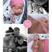 Kaja prematuur geboren met 31 weken, tweeling, MMC Veldhoven, couveuse, NICU