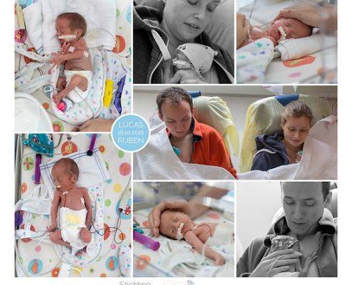 Lucas & Ruben prematuur geboren met 30 weken, tweeling, WKZ, stuitligging, spoedkeizersnede, buidelen