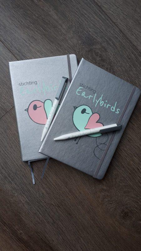 Notitieboekje Earlybirds