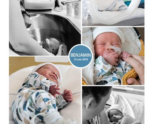 Benjamin prematuur geboren met 34 weken, St. Antonius Leidsche Rijn, sonde, couveuse, zwangerschapsvergiftiging