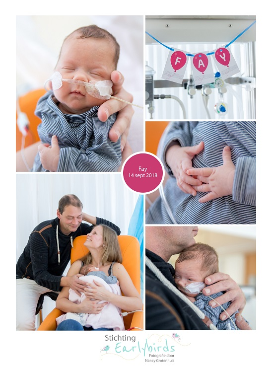 Fay prematuur geboren met 28 weken, Antonius ziekenhuis, sondevoeding, vroeggeboorte