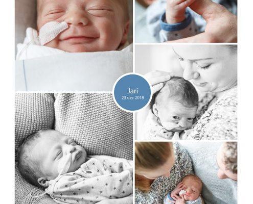 Jari prematuur geboren met 34 weken en 2 dagen, Laurentius ziekenhuis, couveuse, gebroken vliezen, stuitligging, keizersnede