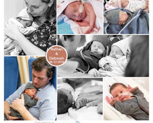 Nathan & Deborah prematuur geboren met 35 weken, tweeling, ASZ, flesvoeding, sonde, borstvoeding