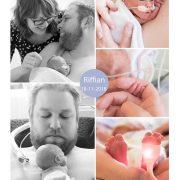 Riffian prematuur geboren met 28 weken, gebroken vliezen, UMCG, weeenremmers, longrijping, MMC Veldhoven, neonatologie, NICU, couveuse, buidelen, sonde