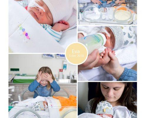 Eva prematuur geboren met 34 weken en 4 dagen, Meander ziekenhuis, CPAP, sonde, WKZ Utrecht, borstvoeding