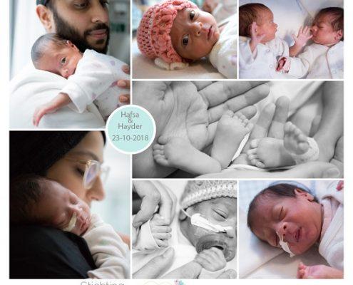 Hafsa & Hayder prematuur geboren met 28 weken, tweeling, sonde, flesvoeding, Juliana Kinder Ziekenhuis