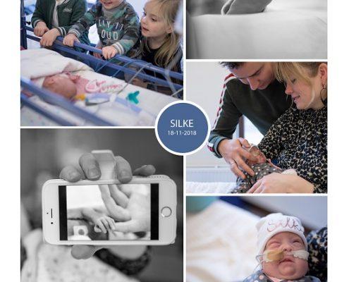 Silke prematuur geboren met 25 weken, ZGT Almelo, gebroken vliezen, sonde, vroeggeboorte