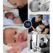 Hugo prematuur geboren met 32 weken, Rijnstate Arnhem, sonde