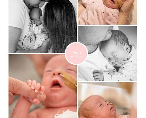 Jenn prematuur geboren met 28 weken, groeiachterstand, MMC Veldhoven, Sophia Rotterdam, spoedkeizersnede, sondevoeding, Elkerliek Helmond