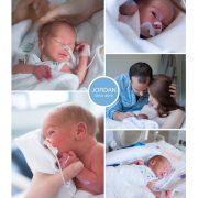 Jordan prematuur geboren met 33+ weken, Meander Amersfoort, sonde