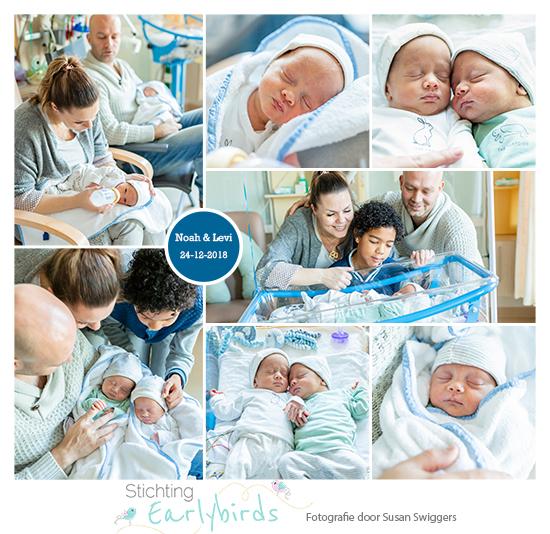 Noah & Levi prematuur geboren met 32 weken, tweeling, Bernhoven, weeenremmers