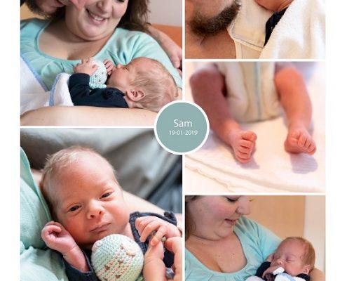 Sam prematuur geboren met 32 weken, Amphia Breda, vroeggeboorte, knuffelen