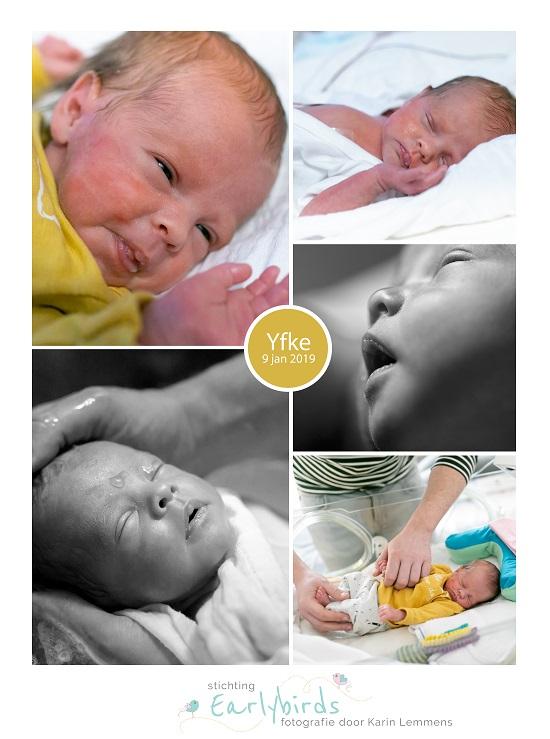 Yfke prematuur geboren met 33 weken en 5 dagen, weeenremmers, longrijping, gebroken vliezen, couveuse, sonde