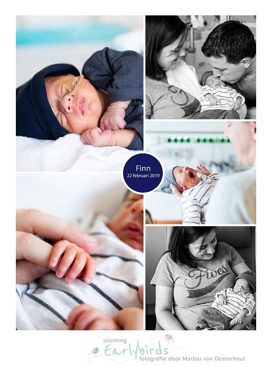 Finn prematuur geboren met 33 weken, Ikazie ziekenhuis Rotterdam, sonde, vroeggeboorte