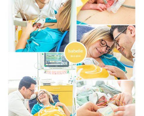 Isabelle prematuur geboren met 25 weken, MMC Veldhoven, couveuese, buidelen, sonde, CPAP